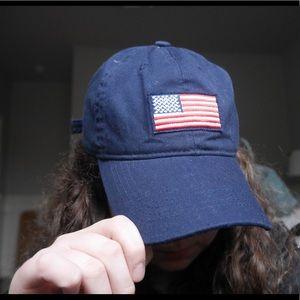 Old Navy Flag Hat